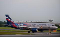 VP-BWD        A320-214      CSKA Moscow Livery    Aeroflot (Gormanston spotter) Tags: airbus aeroflot vpbwd gormanstonspotter cskamoscowlivery dub 2019 avgeek eidw a320214 a320