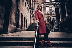 w/ @akorail #edinburgh #scotland #streetfashion #red #model (Murat Guneri) Tags: ifttt instagram w akorail edinburgh scotland streetfashion red model