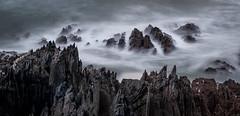 Sea the moment... (Troy Howling) Tags: sea seascape mountains art fineart longexposure nikon d700 50mm devon woolacombe ocean waves