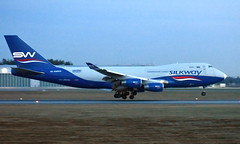 Silk Way 4K-SW800, OSL ENGM Gardermoen (Inger Bjørndal Foss) Tags: 4ksw800 silkway boeing 747 osl engm gardermoen