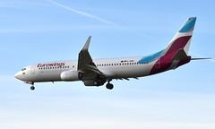 Eurowings D-ABMV,  OSL ENGM Gardermoen (Inger Bjørndal Foss) Tags: dabmv eurowings boeing 737 osl engm gardermoen