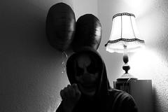 I want you for... (roaming wolf) Tags: horror horrorclown clown creepy gruselig unheimlich scary eerie surprise überraschung mask maske ballons balloons lamp lampe licht light shadows schatten schwarzweis blackandwhite monochrom monochrome digital indoor innenraum insanity wahnsinn gefahr danger gefährlich dangerous dark dunkel darkness dunkelheit düster gloomy cupboard schrank halloween kapuze hood waiting wartend abend evening nacht night alptraum nightmare augen eyes dämon demon geist ghost