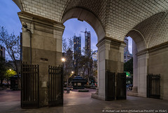 Municipal Building (20191010-DSC05329) (Michael.Lee.Pics.NYC) Tags: newyork municipalbuilding cityhall architecture arch shiftlens sony a7rm4 laowa12mmf28 magicshiftconverter