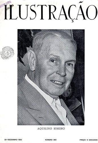 Retrato do escritor português Aquilino Ribeiro | Portrait of portuguese writer Aquilino Ribeiro | 1963 ?