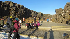 Þingvellir at Öxarárfoss (Ásmundur H) Tags: þingvellir almannagjá öxarárfoss iceland