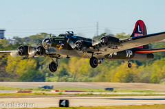 "B-17G ""TEXAS RAIDERS"" (vlxjeff) Tags: aircraft airshow airplane wwii warbird wings wingsoverdallas2019 warbirds plane nikon d7000 bomber boeing dallas douglas b29 b17 p51 sbd b24 c47"