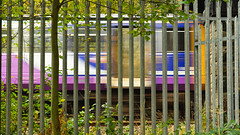 Streak (_J @BRX) Tags: dmu dieselmultipleunit train railway rail railroad bus yorkshire england uk 2019 autumn northern arriva pacer leeds southport class 144 brighouse 24th october motoinblur