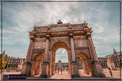 ARC DE TRIOMPHE DU CARROUSEL (01dgn) Tags: arcdetriompheducarrousel paris sunset streetphotography fransa france frankreich travel weitwinkel wideangle canoneos700d