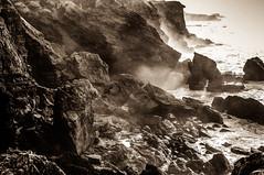 Litoral rocoso (ccc.39) Tags: asturias verdicio mar cantábrico rocas acantilados costa sea coast rocks cliff