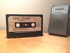 new order Low-life (Matthew Burpee) Tags: cassettetape 80s 1980s neworder lowlife cool