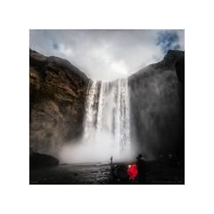 Amazing Iceland - Skógafoss II (Passie13(Ines van Megen-Thijssen)) Tags: 2019 fimmvörðuháls ijsland iceland icelandicwaterfall island skógafoss þórsmörk waterfall skógafosswaterfall wasserfall waterval red canon inesvanmegen inesvanmegenthijssen