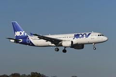 F-GKXV Airbus A320-214 EGPH 31-10-19 (MarkP51) Tags: fgkxv airbus a320214 joon jn jon edinburgh airport edi egph scotland airliner aircraft airplane plane image markp51 nikon d500 nikonafp70300fx sunshine sunny