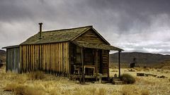 02469376423054-117-19-10-Gold Point Ghost Town-17 (Don't Mess With Jim) Tags: 2019 america fujifilmxt30 fujifilmxf1855mmlens goldpoint miningtown nevada october usa autumn clouds cloudy desert fall ghosttown