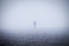 Lost (CoolMcFlash) Tags: fog spooky horror fear halloween foggy person silhouette minimalistic minimalism minimalistisch alone eerie canon eos 60d nebel autumn herbst unheimlich angst kontur alleine fotografie photography tamron a007 2470