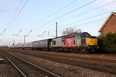 37800 5L46 beningbrough 31.10.2019 (Dan-Piercy) Tags: europhoenix class37 37800 beningbrough 5l46 haymarket depot ely papworth sidings emptystock move ecml