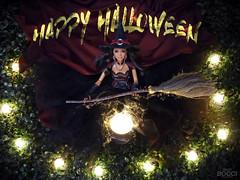 Happy Halloween 2019!!!! (davidbocci.es/refugiorosa) Tags: halloween barbie mattel fashion doll muñeca refugio rosa david bocci ooak bruja witch alma