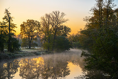 First frost (Uwe Weigel) Tags: landscape landscapephotography frost nature naturephotography autumn herbst view sun clouds river water herbstporträt cold kalt landschaftsfotografie earth world colors nice