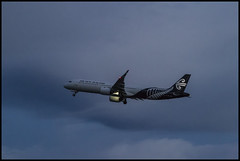 Air New Zealand A321 from Brisbane 010 at dusk-2= (Sheba_Also 16.7 Million Views) Tags: air new zealand a321 from brisbane 010 dusk