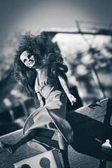 Zombie Barbie (hutchphotography2020) Tags: barbie doll zombie monochrome blackandwhite