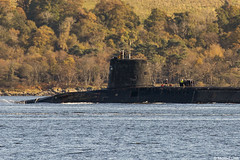 Unidentified RN Vanguard-class nuclear ballistic missile submarine (SSBN); Loch Long, Firth of Clyde, Scotland (Michael Leek Photography) Tags: boat submarine nuclearsubmarine nuclear nucleardeterrent ballisticmissilesubmarine vanguardclasssubmarine trident ssbn lochlong firthofclyde hmnbclyde hmnb hmsneptune faslane gareloch britainsarmedforces britainsnavy royalnavy rn nato warship navalvessel coulport cowal cowalpeninsula argyllandbute argyll scotland scottishlandscapes scottishcoastline scotlandslandscapes scottishshipping tridentsubmarine michaelleek michaelleekphotography