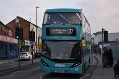 Nottingham City Transport 520 (Ash Hammond) Tags: nottinghamcitytransport scanian280ud alexanderdennisenviro400cbgcity 520 yn69dsu