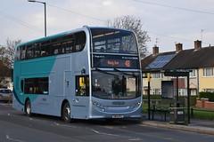 Nottingham City Transport 613 (Ash Hammond) Tags: nottinghamcitytransport scanian230ud alexanderdennisenviro400 613 yn14mtk