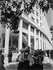 Inauguração do campus da Pontifícia Universidade Católica do Rio de Janeiro (PUC-Rio), em 1955 (Arquivo Nacional do Brasil) Tags: pucrio universidade riodejaneiro arquivonacional arquivonacionaldobrasil nationalarchivesofbrazil nationalarchives