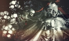 Godless... (Just~Ada) Tags: just~ada moon amore lelutka novia de muerte halloween skulls black calendargirlssl