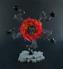 President Buer (optimus-convoy) Tags: lego bionicle demon hell