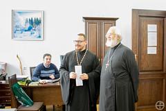 Состоялась встреча студентов академии с протоиереем Владиславом Цыпиным