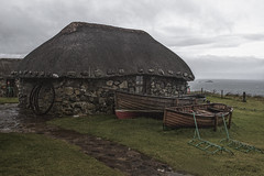 bygone days (johnny_9956) Tags: skye scotland canon cottage building house boat 7d uk old outdoor outside historic history