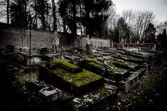 Happy Halloween (vale0065) Tags: halloween cimetièredesaintewalburge cimetière cemetary cemetery graveyard kerkhof begraafplaats friedhof headstone tombe cross cimitero liege luik belgië belgium sint walburgis