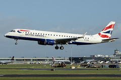 G-LCAA | BA CityFlyer | Embraer ERJ-190LR (ERJ-190-100LR) | CN 19000456 | Built 2011 | DUB/EIDW 11/10/2019 | ex B-3197, EI-GOA (Mick Planespotter) Tags: aircraft airport 2019 nik sharpenerpro3 erj190 jet aviation avgeek plane planespotter airplane aeroplane flight glcaa ba cityflyer embraer erj190lr erj190100lr 19000456 2011 dub eidw 11102019 b3197 eigoa britishairways dublinairport collinstown