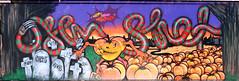 Graffiti in Amsterdam (wojofoto) Tags: ndsm graffiti streetart amsterdam nederland netherland holland wojofoto wolfgangjosten voa chey happyhaloween