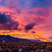 Sunset Panorama of The Owens Valley Radio Observatory (OVRO)