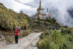 Namche Bazar to Khumjung (Stan Adam) Tags: trek passes nepalthree nepal everest everestthreepassestrek
