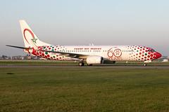 CN-RGV, Boeing 737-85P, Royal Air Maroc(60 years livery) (Freek Blokzijl) Tags: