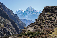 Lunden to Namche Bazar (Stan Adam) Tags: nepalthree trek passes nepal everest everestthreepassestrek
