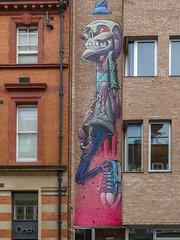 Street Art by Gent (anthsnap!) Tags: leicester bringthepaint streetart leicestershire paint graffiti gent
