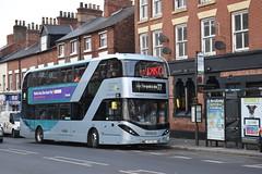 Nottingham City Transport 430 (Ash Hammond) Tags: nottinghamcitytransport scanian280ud alexanderdennisenviro400cbgcity 430 yp17ugb