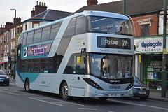 Notttingham City Transport 426 (Ash Hammond) Tags: nottinghamcitytransport scanian280ud alexanderdennisenviro400cbgcity 426 yp17ufj