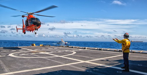 Coast Guard Cutter James conducts 62-day counter-drug patrol