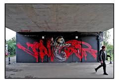 STREET ART by VOYDER & FANAKAPAN (StockCarPete) Tags: fanakapan voyder streetart londonstreetart urbanart graffiti londongraffiti heliumballoonghost shoreditch shoreditchart london uk