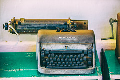 All the Words I Have Left to Say to You (Thomas Hawk) Tags: baja bajacalifornia cabo cabosanlucas loscabos mexico museodelacasadecultura museum todossantos typewriter fav10