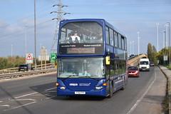 Uni 4 (Ash Hammond) Tags: nottinghamcitytransport scanian230ud optareomnidekka 928 yt61ffp