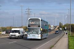 Nottingham City Transport 989 (Ash Hammond) Tags: nottinghamcitytransport scanian230ud optareomnidekka 989 yt10uwu
