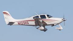 Cirrus SR22 N123VG (ChrisK48) Tags: kdvt aircraft 2003 cirrussr22 phoenixaz phoenixdeervalleyairport dvt airplane n123vg