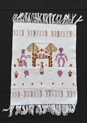Mixtec Weaving Ofrenda Day of the Dead (Teyacapan) Tags: tejidos weavings mixteco oaxacan mexican ofrenda calacas diademuertos