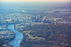 Aerial View of Music City - Nashville, Tennessee (J.L. Ramsaur Photography) Tags: jlrphotography nikond5200 nikon d5200 photography photo nashvilletn middletennessee davidsoncounty tennessee 2013 engineerswithcameras musiccity photographyforgod thesouth southernphotography screamofthephotographer ibeauty jlramsaurphotography photograph pic nashville downtownnashville capitaloftennessee countrymusiccapital tennesseephotographer sobro nashvilleskyline cumberlandriver nissanstadium aerialviewofmusiccity aerialviewofnashville bridges smashville inflight lowlevelaerialphotography flying airplanewindow river skyline downtown engineeringasart ofandbyengineers engineeringisart engineering landscape southernlandscape fromtheairplanewindow