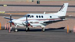 Beech C90 King Air N35TV (ChrisK48) Tags: beechcraft kingair beechc90 n35tv 1972 dvt kdvt aircraft airplane phoenixdeervalleyairport phoenixaz